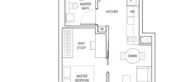 amber-park-floor-plan-1-bedroom-ensuite-study-a3-east-coast-marine-parade-singapore