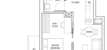 amber-park-floor-plan-1-bedroom-ensuite-study-a3-pes-east-coast-marine-parade-singapore
