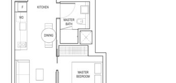 amber-park-floor-plan-1-bedroom-study-a1-east-coast-marine-parade-singapore