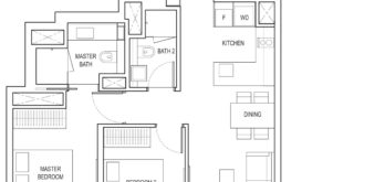 amber-park-floor-plan-2-bedroom-study-b4a-east-coast-marine-parade-singapore