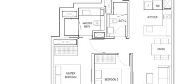 amber-park-floor-plan-2-bedroom-study-b4a-pes-east-coast-marine-parade-singapore